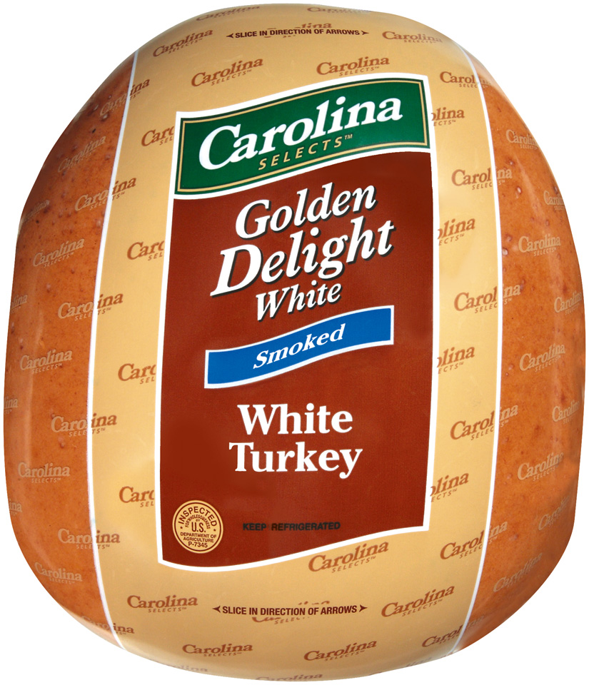 Deli Delight, Smoked White Brst, 2/9-10 lb., Carolina Tu