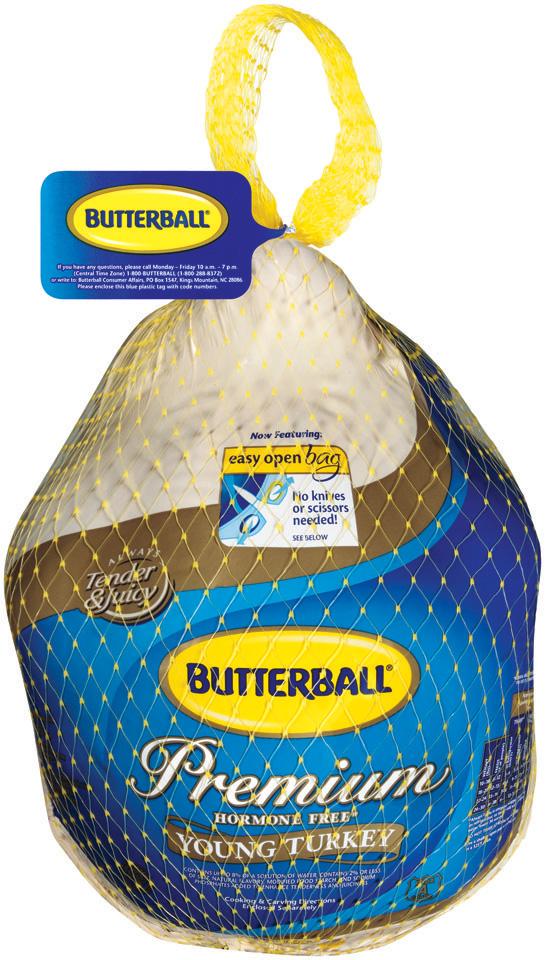 Butterball Frozen Whole Turkey 20-24lb