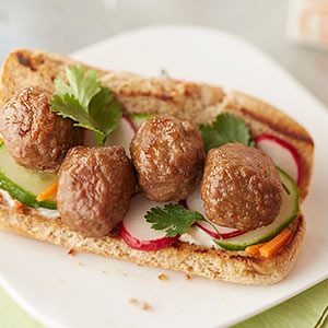 Meatball Banh Mi