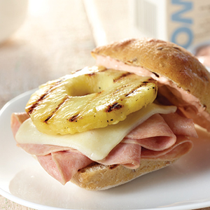 Hot Hawaiian Sandwich